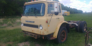 1970 IHC Cargostar COE Cab and Chassis