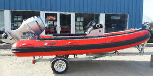2017 AB Inflatable Profile A14 S w/ Honda 50HP Outboard