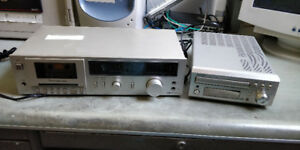 Tape Deck and CD Receiver For Sale