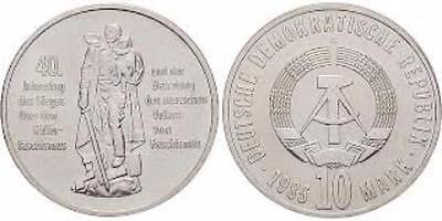diverse DDR-Gedenkmünzen 5, 10 und 20 Mark