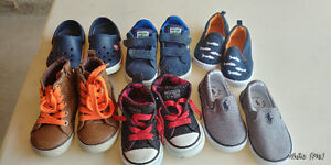 Lot of Toddler Boy Shoes!! Great deal!