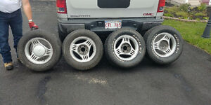 295 50 15 Mustang rims and tires