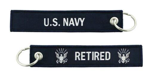 U.S. Navy Retired Key Chain