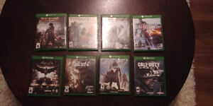 Xbox One games for sale! $20 each!
