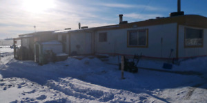 Mobile home on shared acreage