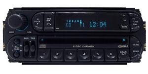 DODGE JEEP CHRYSLER Durango Ram RBQ Radio 6 Disc Changer CD Player Stereo RDS
