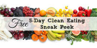 Fun FREE 5 Day Clean Eating Online Group