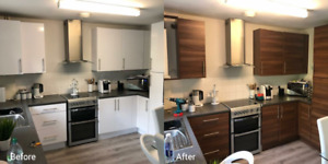 Update the look of your existing kitchen cabinets.
