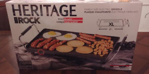 Heritage Rock Family sized electric griddle