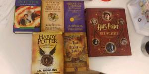 Various Harry Potter & JK Rowling Books