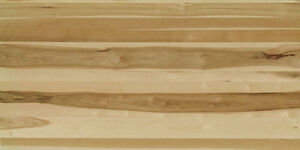 Rough 4/4 Hickory Lumber - Kiln Dried - End Grain Sealed