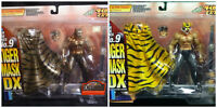 Kaiyodo XEBEC 2 Sets of Tiger Mask DX9 - Tiger Mask DX9 Gold Ver