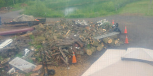 HARDWOOD + SOFTWOOD LOGS FOR SALE AND MULCH