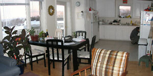Wolfville-stylish room in classy apt.All inclusive