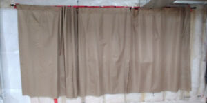 Blackout Curtains and Rods - Excellent condition