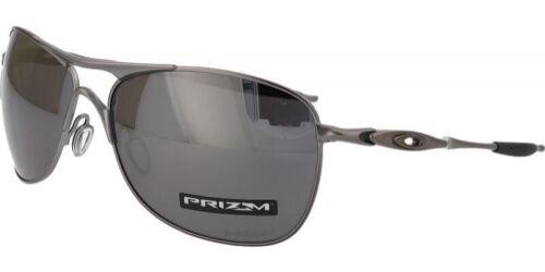 Oakley Crosshair POLARIZED Sunglasses OO4060-22 Lead Frame W/ PRIZM Black Lens