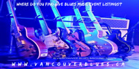 Blues Music Events!