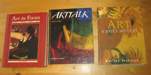 3 art books