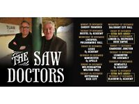 2 x Saw doctors tickets , ironworks Inverness