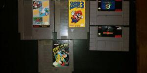 Jeux SNES et NES