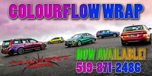 TANGENT GRAPHICS - COLOURFLOW WRAPS London Ontario image 1