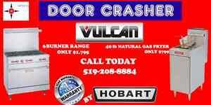 DOOR CRASHER VULCAN SALE AT SINCO $799 40LB FRYER AND MORE