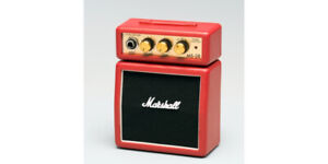 2 Red Marshall Mini Amps