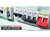 Electrician Services | rewiring consumer unit | fuse box socket switch | CCTV Installation