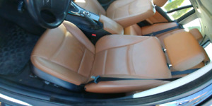 BMW front leather heated memory seats