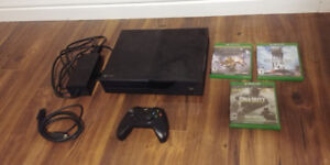 Xbox One, 3 Games, One Controller - $220