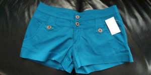 Brand new teal shorts
