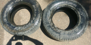 Set of 4 used Tires!