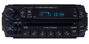 DODGE RAM JEEP CHRYSLER RBQ 6 DISC CD PLAYER CHANGER RADIO STEREO CARAVAN DAKOTA