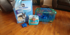 Hamster/mouse/gerbil/cage and accessories -Tuscany