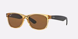 Ray-Ban New Wayfarer Sunglasses - honey/black