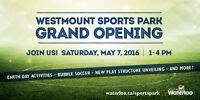 WESTMOUNT SPORTS PARK GRAND OPENING