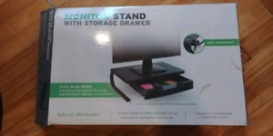 Monitor Stand with storage.