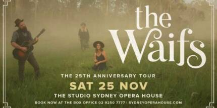 Wanted Waifs ticket  x1