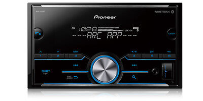 Pioneer 2 Din Car Stereo Digital Media Receiver W  Bluetooth Usb Aux