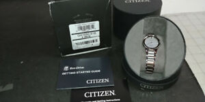 NEW** Ladies' Citizen Eco-Drive® Axiom Diamond Accent Watch