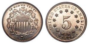 1877 & 1878 US Shield Nickels Cambridge Kitchener Area image 1