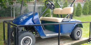 E-Z-GO Golf Cart!