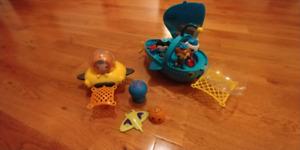 Kids Octonauts- Bath/water toys