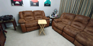 Selling Reclining Sofa and Love Seat