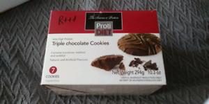ProtiDiet Triple Chocolate Cookies/ Biscuit Triple Chocolat