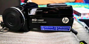 Brand New! HD 1080P Camcorder by hp