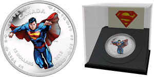 .9999 Silver Coin 75th Anniversary of Superman Modern Day 1/2 oz