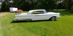 1959 Ford Fairlane Galaxie 2 Door Hardtop