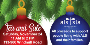 2nd Annual Christmas Tea & Sale