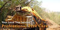 Tree service and Landscaping Licensed and Insured Arborist.